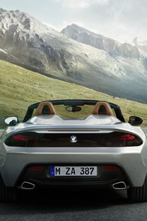 宝马BMW Zagato2013手机壁纸