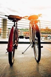 时髦的自行车手机背景图片壁纸
