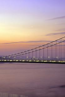 壮丽的大桥手机壁纸图片