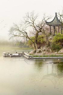 浓郁中国风韵味风景手机壁纸