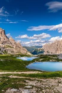 唯美青山自然风景手机图片壁纸