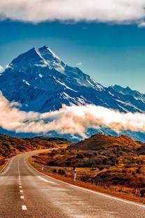 高清公路风景图片壁纸