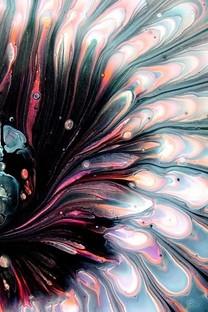 彩色颜料艺术背景图片壁纸5