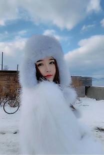 冬日温暖美女高敏儿图片壁纸
