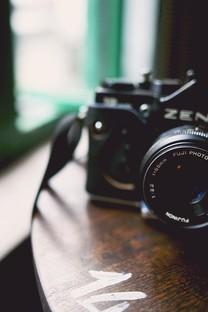 照相机唯美背景图片壁纸