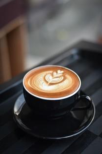 漂亮的咖啡拉花高清图片壁纸
