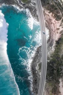 唯美海岸自然风光手机图片壁纸