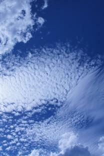 美丽的蓝天白云风景图片壁纸