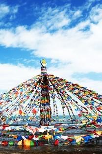 青海湖唯美风景图片桌面壁纸