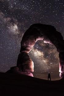 唯美星空夜景高清图片壁纸