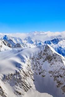 雪山唯美意境图片壁纸