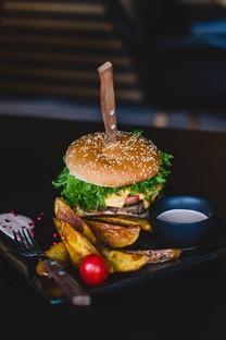汉堡美食手机图片壁纸