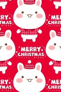 油爆叽丁圣诞节卡通图片壁纸