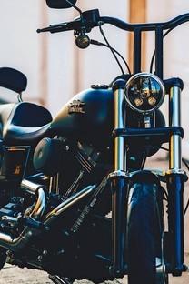 超炫酷摩托车手机图片壁纸2