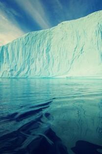 雪山冰川唯美风景高清图片壁纸