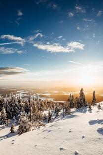 巍峨壮观的雪山高清风景图片壁纸