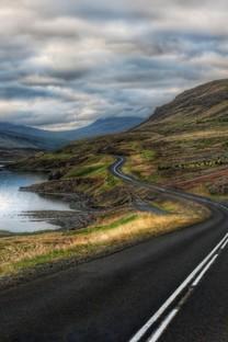 高清公路风景图片面壁纸
