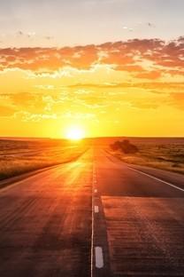 好看的夕阳晚霞唯美风景图片桌面壁纸