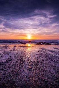 黄昏夕阳美景图片高清桌面电脑壁纸2