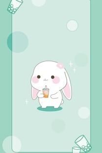 甜兔酱精美手机壁纸