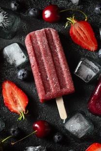 夏季清凉美味可口雪糕图片壁纸
