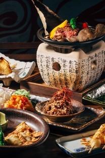 营养丰富的餐桌美食