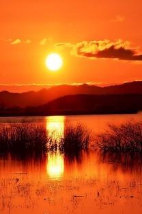 黄昏有一种美丽叫夕阳