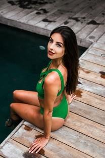泳衣美女性感迷人的图片壁纸
