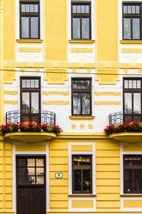 窗户外墙特色背景图片壁纸2