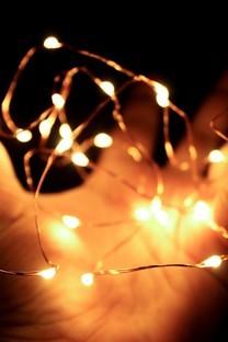 灯光朦胧摄影背景图片壁纸