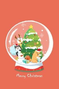 不懂狗圣诞节壁纸合辑