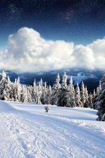 高清雪山风景图片大全
