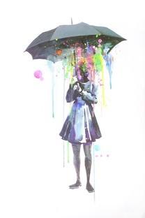 可爱水彩画图片壁纸