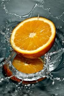 橙子背景图片壁纸2