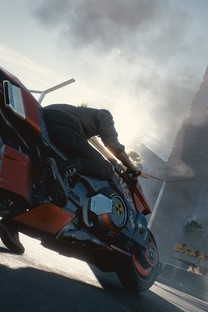 赛博朋克2077高清游戏图片壁纸-游戏场景