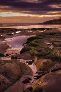岩石绝美风景图片壁纸