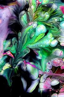 彩色颜料艺术背景图片壁纸2