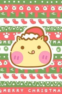 哈咪貓圣誕節卡通圖片壁紙