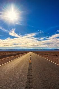 绝美道路风光图片壁纸