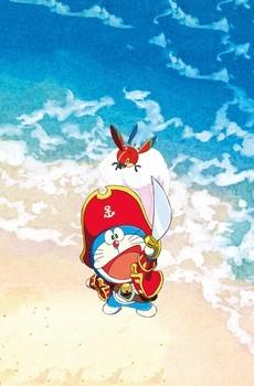 《哆啦A梦大雄的金银岛》手机壁纸