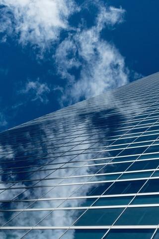 高楼大厦的天空图片壁纸2