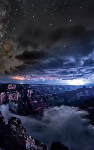 欣賞:夜晚中最美的星空