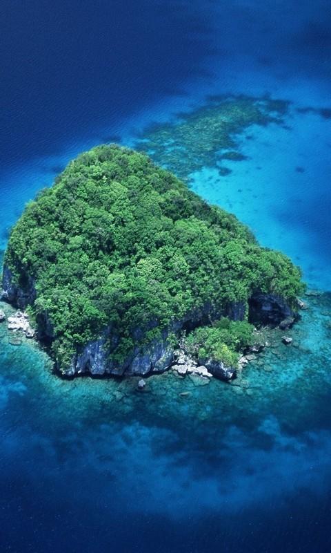 美丽的海岛风景图片壁纸