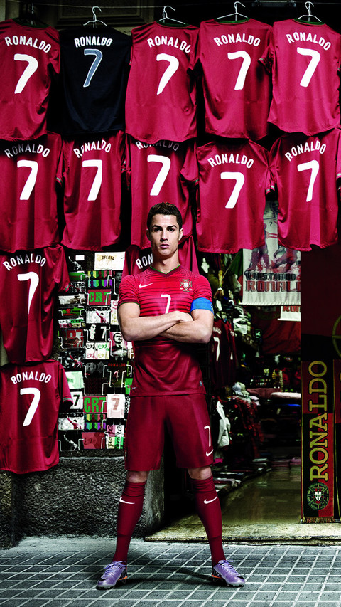 足球明星写真高清手机壁纸