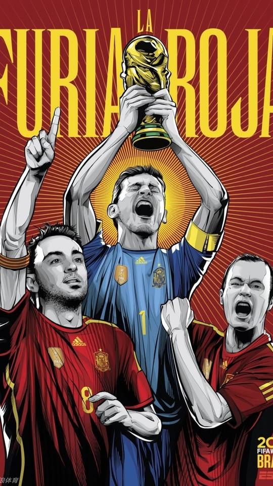 世界杯32强海报手机壁纸