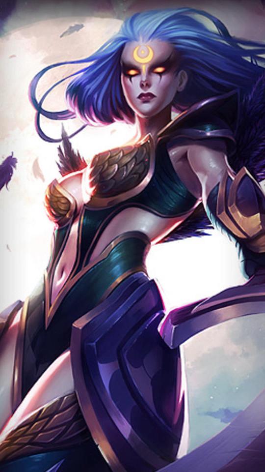 《英雄联盟》游戏角色手机壁纸