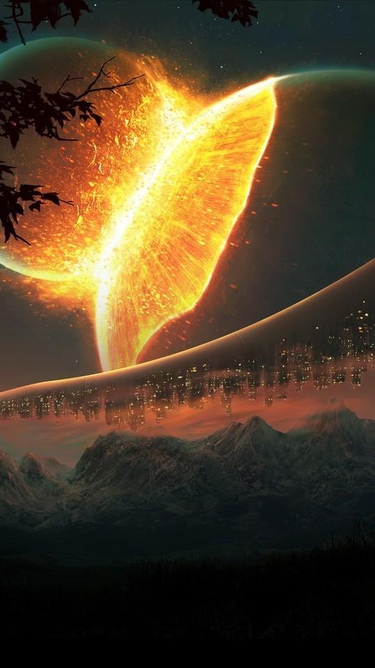 科幻风格星球图片壁纸4