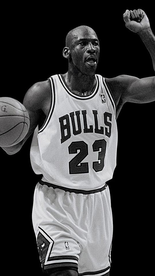 篮球之神乔丹iPhone4壁纸