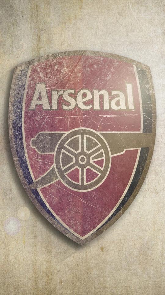 阿森纳队徽高清手机壁纸
