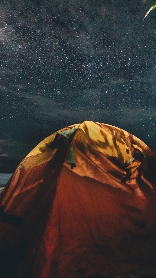 唯美星空夜景高情手机壁纸